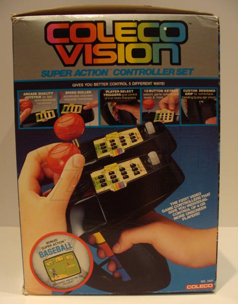 Colecovision Zone Super Action Controller