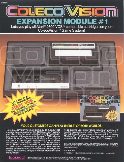 Colecovision Zone Collectible